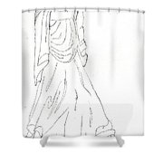 Terpsichore Muse Of Dance Shower Curtain