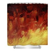 Muse In The Fire 3 Shower Curtain
