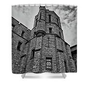 Museum At The Castle  8301 Shower Curtain