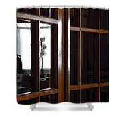Museum Doors Shower Curtain