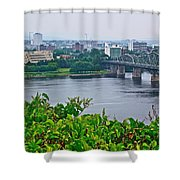 Museum Of Civilization Across The Ottawa River In Gatineau-qc Shower Curtain