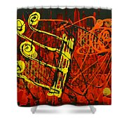 Music 1 Shower Curtain