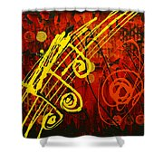 Music 2 Shower Curtain