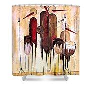 Music 740 - Marucii Shower Curtain