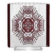 Music And Lace Shower Curtain