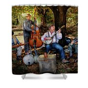 Music Band - The Bands Back Together Again  Shower Curtain