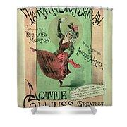 Music Cover For Ta-ra-ra-boom-der-ay Shower Curtain