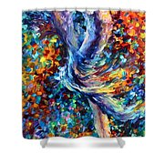Music Flight Shower Curtain