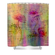Music In The Air Shower Curtain