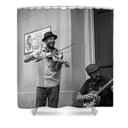 Music In The French Quarter Shower Curtain