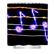 Music Of Heaven Shower Curtain