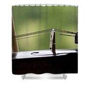 Music Of The Mountain Shower Curtain