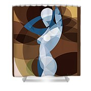 Music Of The Spheres #9 Shower Curtain