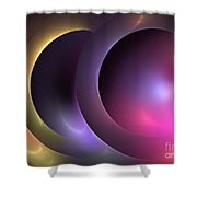 Music Of The Spheres Shower Curtain