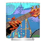 Music Out Of Metal Vi Shower Curtain