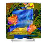 Music Out Of Metal Xv Shower Curtain