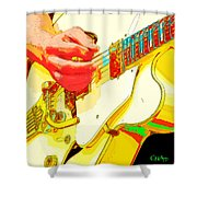 Music Out Of Metal Xviii Shower Curtain