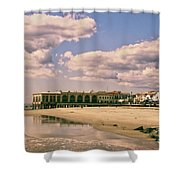 Music Pier From The Beach Shower Curtain