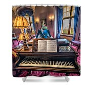 Music Room Shower Curtain