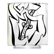 Music Within Shower Curtain