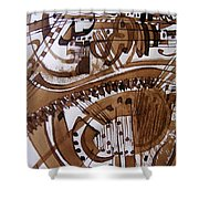Musical 6 Shower Curtain