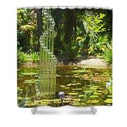 Musical Garden Shower Curtain