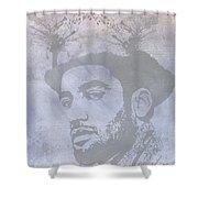 Musical Mind Of Ben Harper Shower Curtain