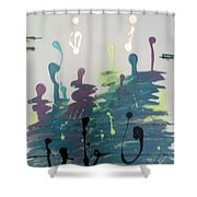 Musical Road Shower Curtain