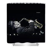 Musical Trip Shower Curtain by Stwayne Keubrick