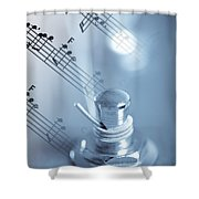 Musical Tune Shower Curtain