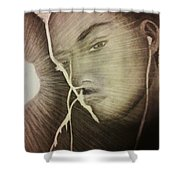 Musically Mesmerized Shower Curtain