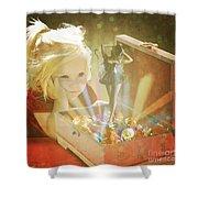 Musicbox Magic Shower Curtain