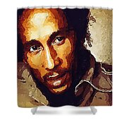 Rastafari Shower Curtain