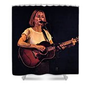 Musician And Songwriter Sam Phillips Shower Curtain