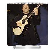 Musician Clint Black  Shower Curtain