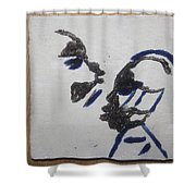 Musicman - Tile Shower Curtain