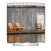 Muskoka Chairs Shower Curtain