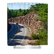 Muskoka Drive Through Shower Curtain