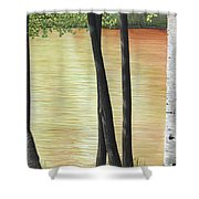 Muskoka Lagoon Shower Curtain