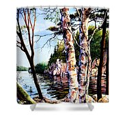 Muskoka Reflections Shower Curtain