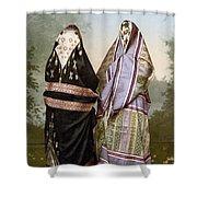 Muslim Women, C1895 Shower Curtain