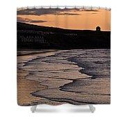 Mussenden Sunset Shower Curtain