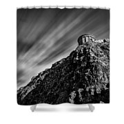 Mussenden Temple - On The Edge Shower Curtain