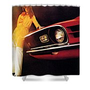 Mustang '70 Shower Curtain