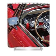 Mustang Classic Interior Shower Curtain
