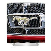 Mustang Grill Shower Curtain