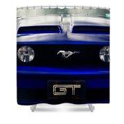 Mustang Gt Shower Curtain