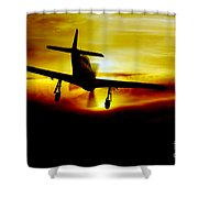 Mustang Recovery Shower Curtain