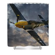 Mustang Tribute Shower Curtain