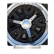 Mustang Wheels Shower Curtain
